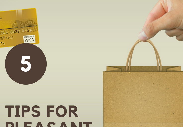 5 TIPS FOR A PLEASANT ONLINE SHOPPINGEXPERIENCE